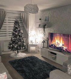 Decor Home Living Room, Living Room Decor Inspiration, Cozy Living Rooms, Living Room Grey, Apartment Living, Living Room Designs, Bedroom Decor, House Rooms, Happy Tuesday