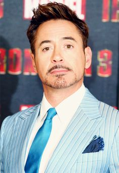 My favorite: 1. Robert Downey Jr.! 2. I LOVE that suit 3. Iron man! ;)