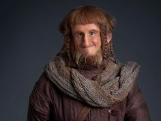 Ori's vest/cowl - one of many incredible handknits in The Hobbit