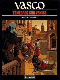 Couverture de Vasco -6- Ténèbres sur Venise