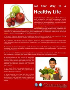 eat-your-way-to-a-healthy-life by Catalina Linkava via Slideshare