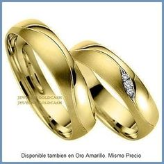 goldcash.- argollas matrimonio mod. faith en oro blanco 10k