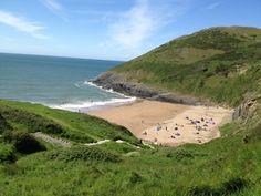 Mwnt Beach, Wales. This is a hidden secret beach!
