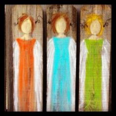 We are offering painting classes with Susan Hamner this summer on Mondays only.  Paint an 'Angel on Reclaimed Wood Fencing' with us for $35.  All supplies included.  This project is offered on Monday, June 18.  Call to reserve your spot and make this project for yourself or give to the angel in your life.    205.343.0015
