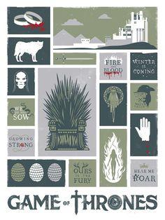 Game of Thrones chanson de glace et incendie par jefflangevin