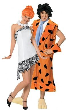 Costume coppia Wilma e Fred Flintstones™ http://www.vegaoo.it/costume-coppia-wilma-e-fred-flintstones-trade.html