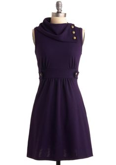 This is a pretty universally flattering dress.  Of course, I got it in purple.  And at $47.99, it's a steal.