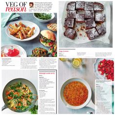 Your Fitness mag spread featuring some of my recipes:) #keepitvegan