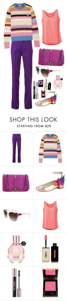 """""""Rainbow Connection"""" by marcusv ❤ liked on Polyvore featuring Giambattista Valli, Kenzo, Rebecca Minkoff, Sophia Webster, Chloé, prAna, Viktor & Rolf and Yves Saint Laurent"""