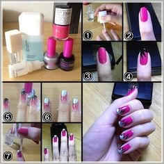 Nail art whit Oriflame products