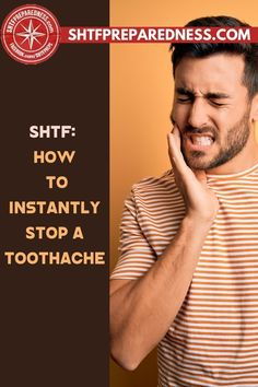 Do you know how to instantly stop a toothache? SHTF Preparedness has some tips, tricks, and remedies for you that will give you some relief if you are struggling with discomfort and pain. Have a look at this article now for more information and try the suggestions for yourself. #toothache #toothacheremedies #remedyfortoothache #toothacherelief #relieffortoothache Remedies For Tooth Ache, First Aid, Shtf, Natural Cures, Home Remedies, The Cure, First Aid Kid, Home Health Remedies, Natural Home Remedies