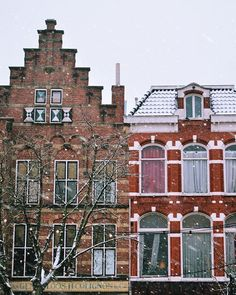 Netherlands' houses under the snow by ( Nikon Photography, Netherlands, Multi Story Building, Houses, Snow, Photo And Video, Videos, Photos, Instagram