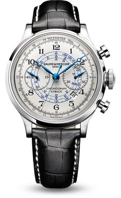 Capeland - 10006. Men's Watch Chronograph. Baume et Mercier.