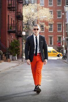 Acheter la tenue sur lookastic - Assortir les couleurs vetements ...