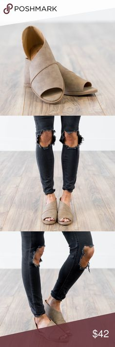 Blaire Booties Open toed flat booties! Very similar to the Free People Mont Blanc Flats!  Stevie Hender Brand  * These booties are running true to size! Shoes Ankle Boots & Booties