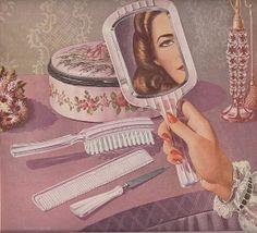 Vintage Vanity Illustration