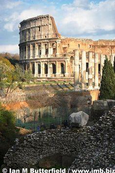 The Foro Romano and the Colosseum, Rome   Flickr – Condivisione di foto!//pp