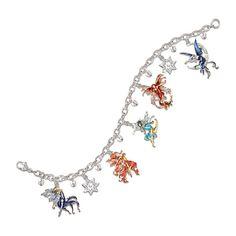 Spirited Fairies Charm Bracelet