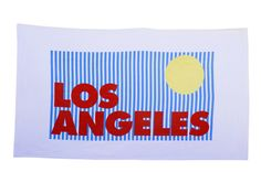 Sisters of Los Angeles || Beach Towels - Los Angeles (AVAILABLE at SHOPKITSON.COM and Nasty Gal)