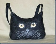 e8d7323b9d4e Jeans reuse. Ideas. This bag is every cat lover s dream! this bag is