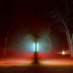 Todd Hido |  notice space and color even when you think the light is gone
