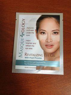 Masque ology luminizing eye gel