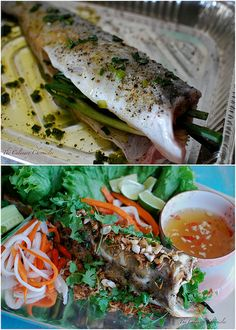 Cá Nướng {Vietnamese Roasted Fish} by The Culinary Chronicles, via Flickr