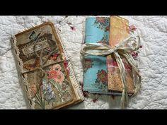 Craft with me/File Folder Journal Part 2 Journal Paper, Scrapbook Journal, Art Journal Pages, Junk Journal, Cool Journals, Art Journals, Glue Book, Art Journal Techniques, Handmade Journals