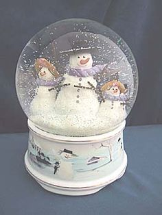 Snowmen - I want one of these