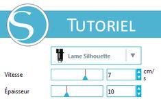 [Tuto Silhouette Studio] Sauvegarder ses réglages de coupe personnalisés dans Silhouette Studio
