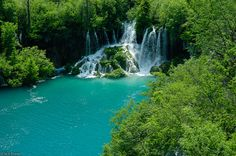 The stunning Plitvice Lakes National Park lies in the Lika region of Croatia. The park is surrounded by the mountains Plješevica, Mala Kapela, and Medveđak, which are part of the Dinaric Alps.