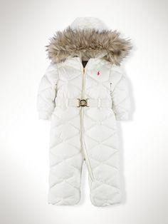 1211292ed0de Ralph Lauren Childrenswear Infant Girls  Down Snowsuit - Sizes 9-24 ...