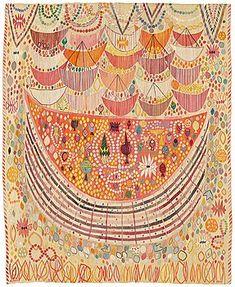 Viimeisimmät uutiset - A great success for design at Modern Art + Design - Bukowskis Textile Design, Textile Art, Kinds Of Fabric, Textiles, Bukowski, Global Art, Success, National Museum, Rugs On Carpet