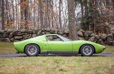 Coolest Vintage Cars This Winter  1969 Lamborghini Miura P400S