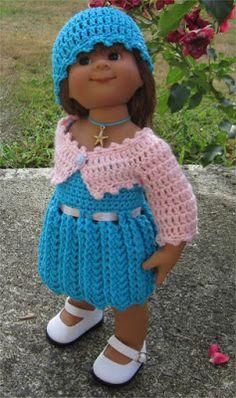 Passion Poupées: L'ensemble Séréna pour les poupées Wichtel