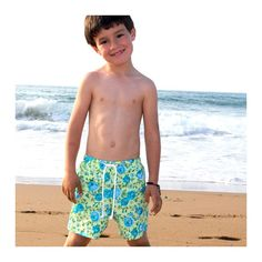 $37 Lola The Cat's swimming trunks for adorable kids