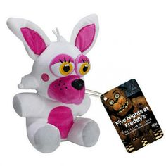 """Five Nights at Freddy's   FNAF Mangle aka Funtime Foxy 6"""" Collectible Plush Figure by FUNKO - #8895"""