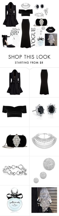 """Untitled #24"" by ajladelicc ❤ liked on Polyvore featuring Talbot Runhof, Boohoo, Blue Nile, Badgley Mischka, Chanel, David Yurman, Topshop and Kate Spade"