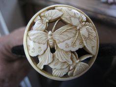Original Antique Art Nouveau Carved Hat Pin Silver Hats, Metal Jewellery, Dressing Tables, Hat Stands, Half Dolls, Dragon Flies, Art Nouveau Jewelry, Stick Pins, Arts And Crafts Movement