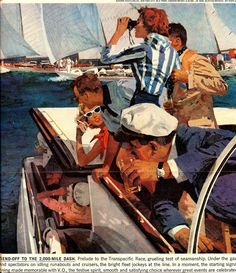 """Today's Inspiration: Bernie Fuchs... """"revolutionized all the old concepts"""""""