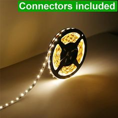 LE® 12V Flexible LED Strip Lights, 300lm/4.8W per Meter, LED Tape, Warm White, 300 Units 3528 LEDs, Non-waterproof, Light Strips, Pack of 5M Lighting EVER http://www.amazon.co.uk/dp/B00HSF64JG/ref=cm_sw_r_pi_dp_FPiYwb1AS8T1N