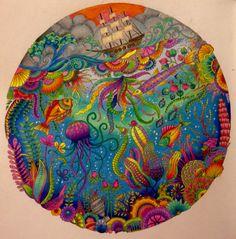 Lost Ocean coloring by SRW
