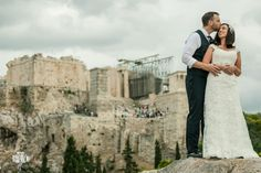 Have you Ever Imagined a Wedding at Acropolis Greece? . More at http://www.aeginaphotographer.com Dimitris Vlaikos wedding photographer Greece