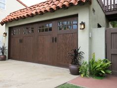 the after shot in our clopay extreme garage door makeover project door shown - Clopay Garage Doors