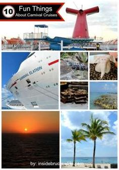 10 Fun Things About Carnival Cruises