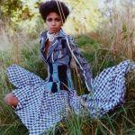 African clothing designer Loza Malombho