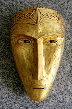 Irish Deities   celtic mask danu the earth mother mother of the celtic gods height 35 ...