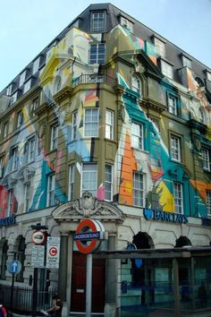 Such a cool building design!  #england #colorful