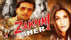 Zakhmi Sher   blockbuster hindi movies   Jeetendra   Dimple Kapadia   Am...