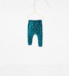 Letters leggings-TROUSERS-BABY BOY | 3 months - 4 years-KIDS | ZARA Hungary
